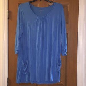 LOGO Lori Goldstein tunic top